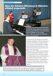 Tag der offenen Tür S.4 - Salvator-Missionen