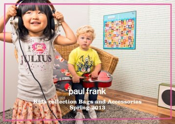 Kids collection Bags and Accessories Spring 2013 - Blue Fish Bags