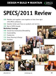 SpECS/2011 review 100 - Chain Store Age