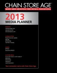 MEDIA PLANNER - Chain Store Age