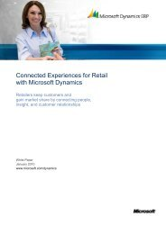 Connected Experiences for Retail with Microsoft ... - Chain Store Age