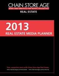 REAL ESTATE MEDIA PLANNER - Chain Store Age