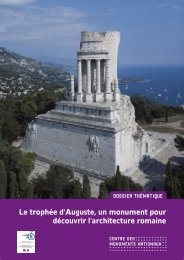 Dossier trophée d'Auguste l'architecture romaine - Centre des ...