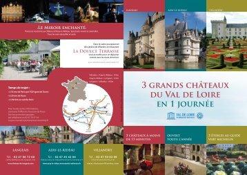 Azay-le-Rideau, Langeais and Villandry - Centre des monuments ...