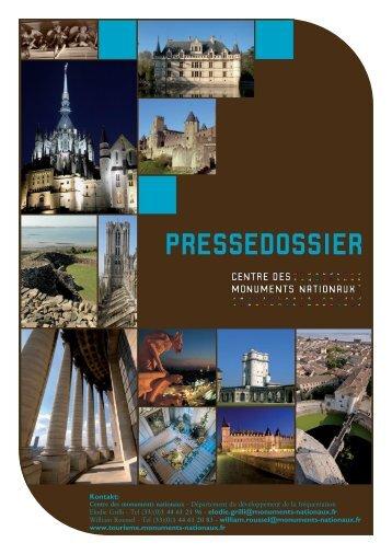 PRESSEDOSSIER - Centre des monuments nationaux
