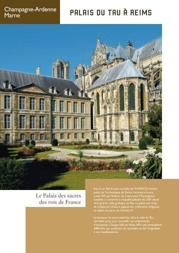 Palais du Tau à Reims - Centre des monuments nationaux