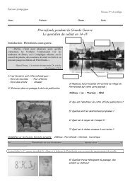 Pierrefonds pendant la Grande Guerre - Centre des monuments ...
