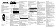 Telefono cordless a standard DECT/GAP DE 191 ... - Switel.com