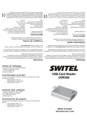 SWITEL 3in1 F und I.pmd - Switel.com
