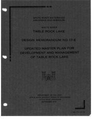 (2) 1976 Table Rock Master Plan Main Text