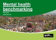 Mental health benchmarking - South West London and St George's ...