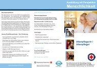 Menschlichkeit - Schwesternschaft München vom BRK eV