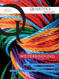 Quartera Magazin, Ausgabe Nr. 6, November ... - SWOP. Exchange