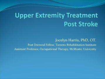 Jocelyn Harris, PhD, OT.