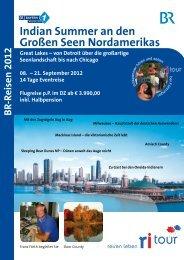 B R-Reisen 2012 Great Lakes - Bayern 1 Radioclub
