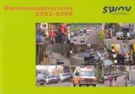 Onderzoeksresultaten 2003-2006 - SWOV