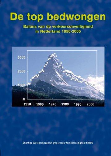 De top bedwongen; Balans verkeersonveiligheid in - Swov