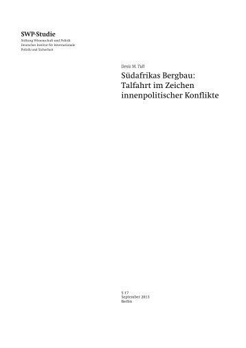 Zum Volltext (PDF) - SWP