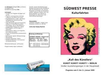 BERLIN - SÜDWEST PRESSE + Hapag-Lloyd Reisebüro