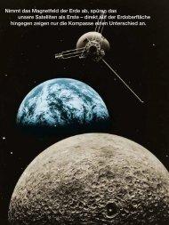 Nimmt das Magnetfeld der Erde ab, spüren das unsere Satelliten als ...
