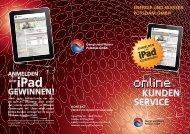 Flyer Online-Kunden-Service ( PDF , 2,0 MB ) - Stadtwerke Potsdam