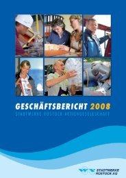Geschäftsbericht 2008 der Stadtwerke Rostock AG