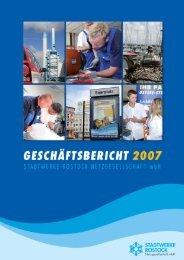 Geschäftsbericht 2007 Stadtwerke Rostock Netzgesellschaft mbH