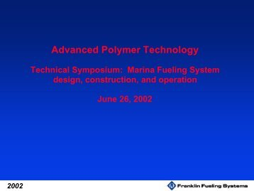 Advanced Polymer Technology
