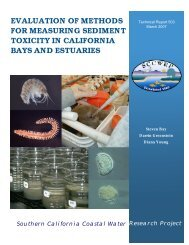 Evaluation of Methods for Measuring Sediment Toxicity in California ...