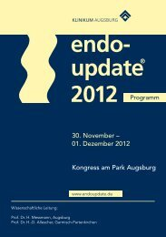 endo-update 2012 - Programme - ESGE