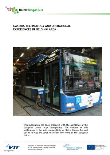 GAS BUS TECHNOLOGY AND OPERATIONAL EXPERIENCES IN  ...