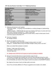 OTC Nuclear Review Committee 11-7-11 Meeting Summary 1 ...