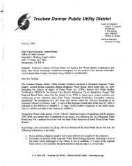 Truckee Don.ner Public Utility District - State Water Resources ...