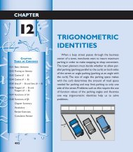 Chapter 12 Trigonometric Identities