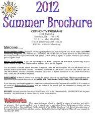 2012 Summer Brochure - Shoreham-Wading River Central School ...