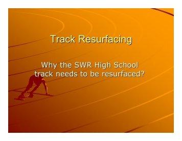 Track Resurfacing