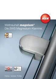 magnium - SWS Gesellschaft für Glasbaubeschläge mbH