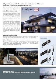 Litefront - SWS Gesellschaft für Glasbaubeschläge mbH