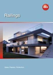 Railings - SWS Gesellschaft für Glasbaubeschläge mbH