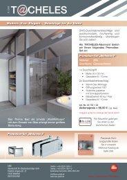 T CHELES - SWS Gesellschaft für Glasbaubeschläge mbH