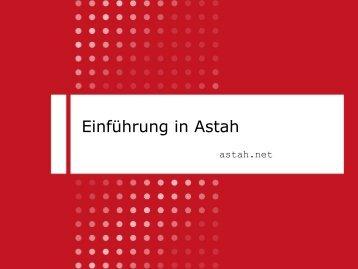 Einführung in Astah - Berner Fachhochschule