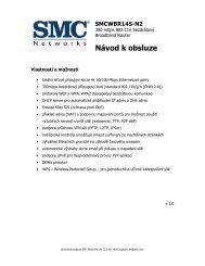 Český manuál - SWS a.s.