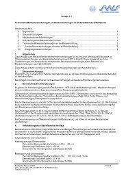 Anlage 1.1 Technische Mindestanforderungen an ...