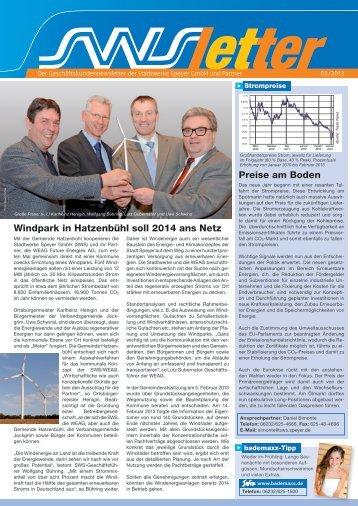 Download - Stadtwerke Speyer GmbH - Speyer