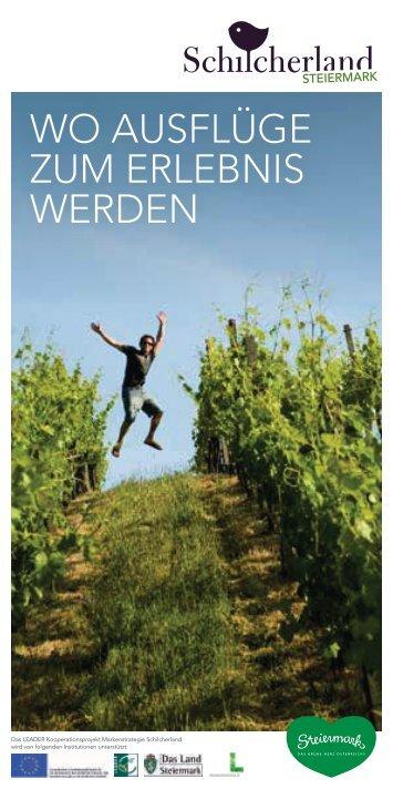 Wo AuSfLügE zuM ERLEbnIS WERDEn - Süd & West Steiermark