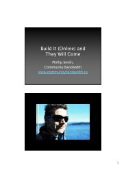 Build It (Online) and They Will Come - Creative Trust