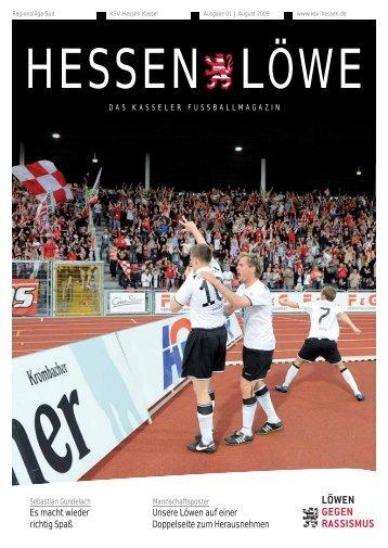 Hessenlöwe August 2009 (8,11 MB) - KSV Hessen Kassel