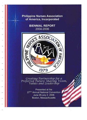 2004 PNAA Biennial Report