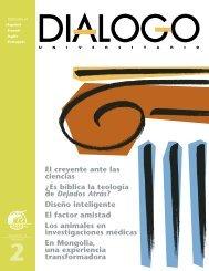 El creyente ante las ciencias - College and University Dialogue