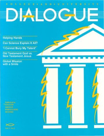No. 2 - College and University Dialogue